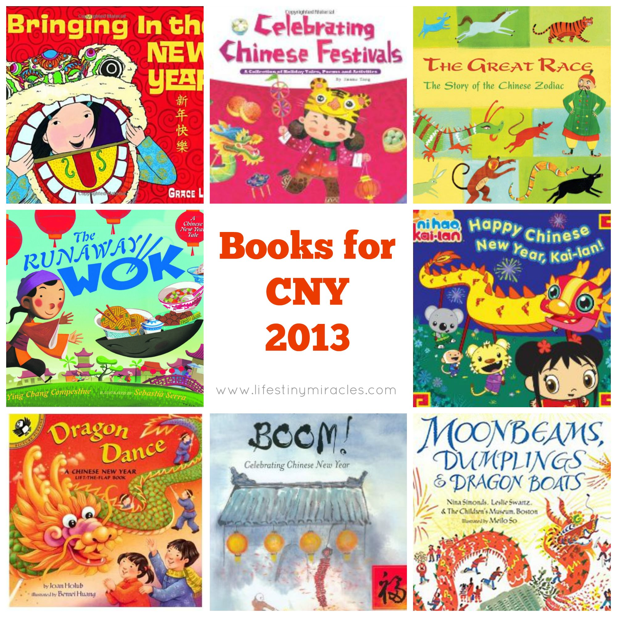 ChineseNewYear Books LTM Collage
