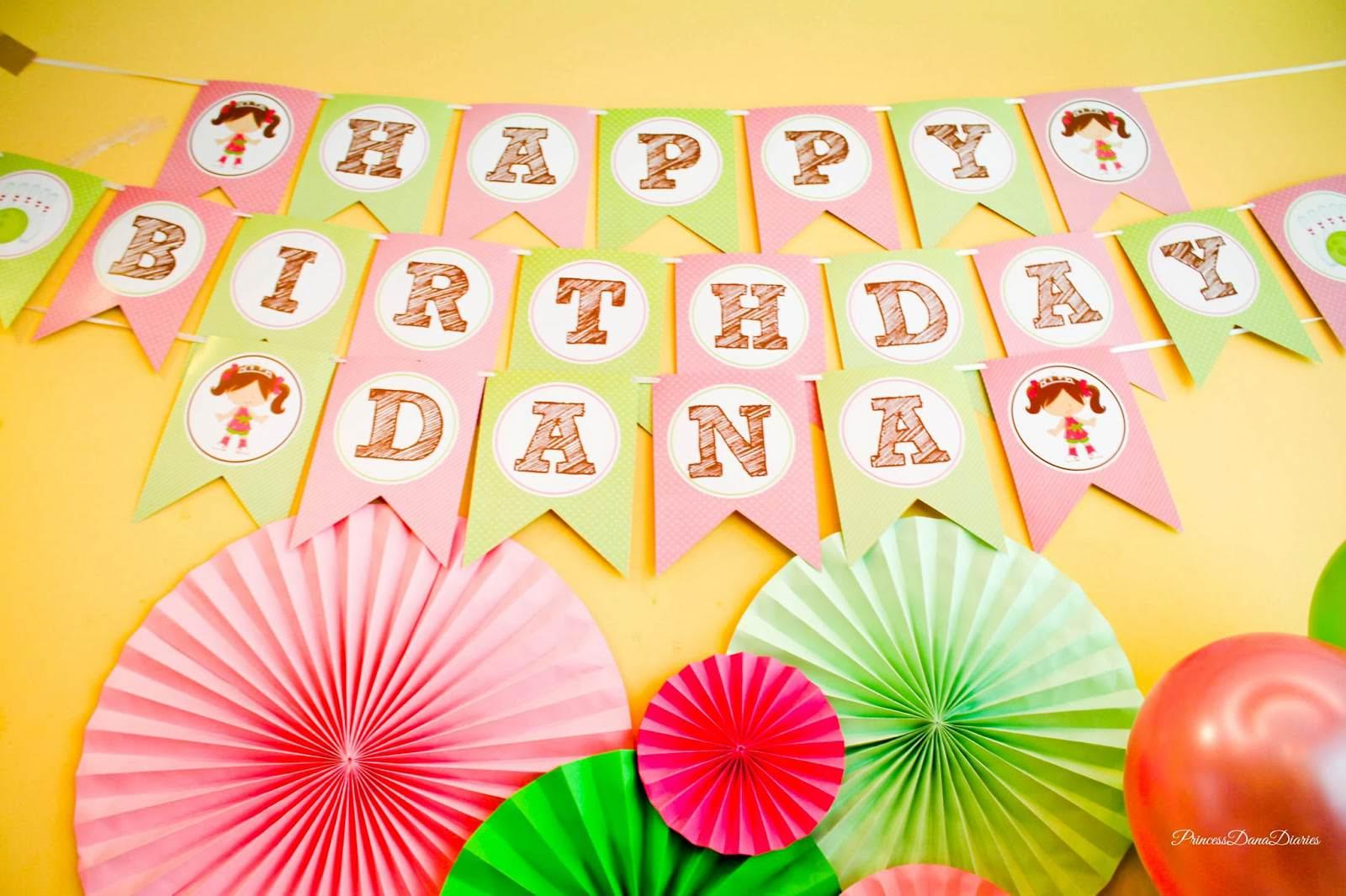 Dana S 5th Birthday Bowling Party Princess Amp The Pins