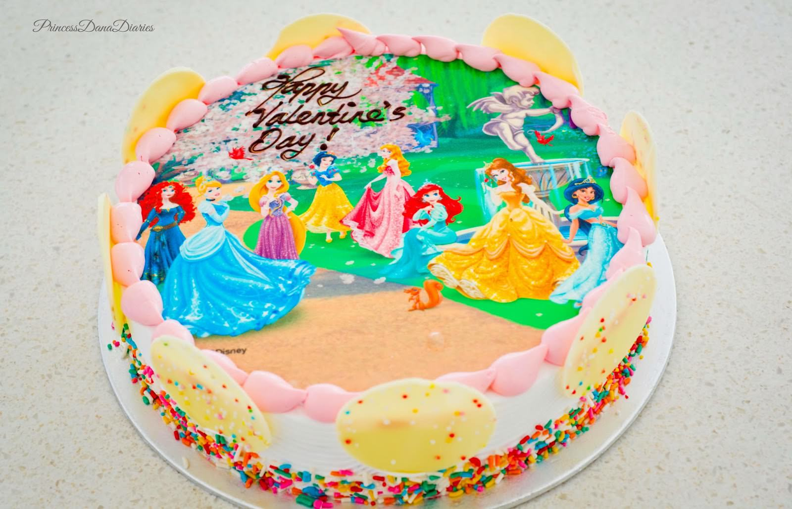 Swensen Ice Cream Cake Disney