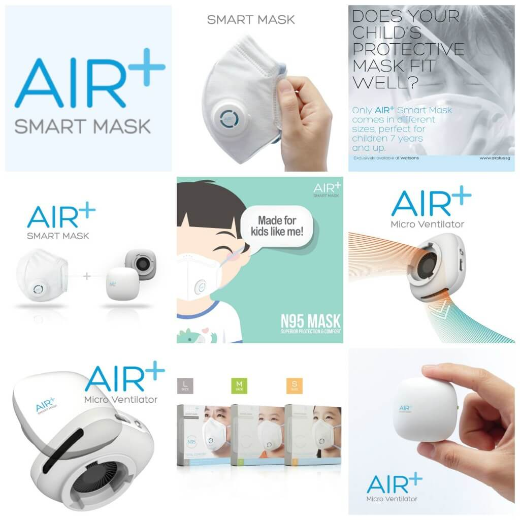 AIR+ Smart Mask Collage