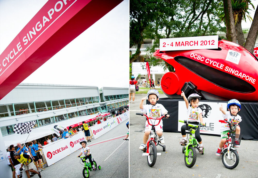 OCBC Cycle 2012 Collage 2