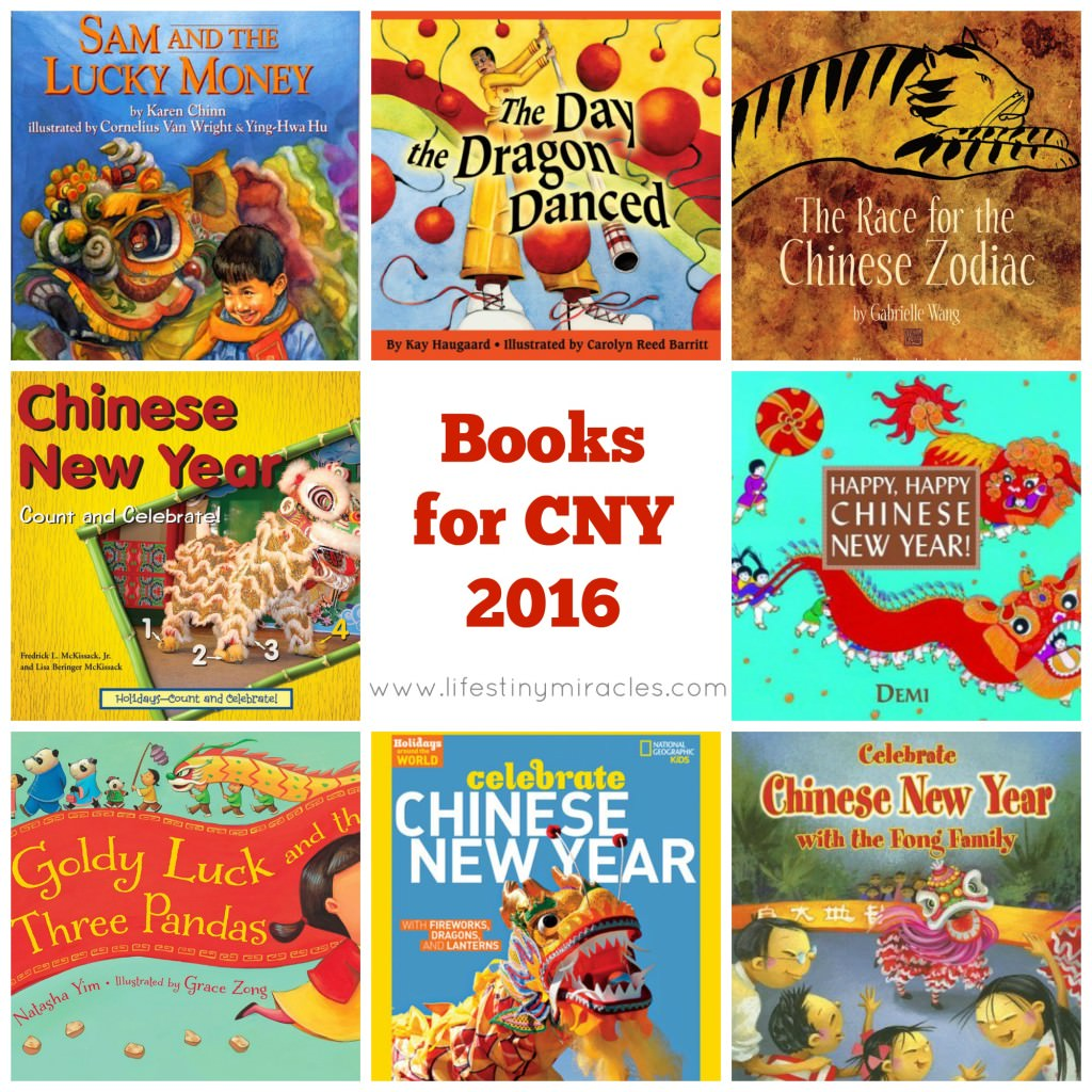 Chinese New Year Books LTM Collage