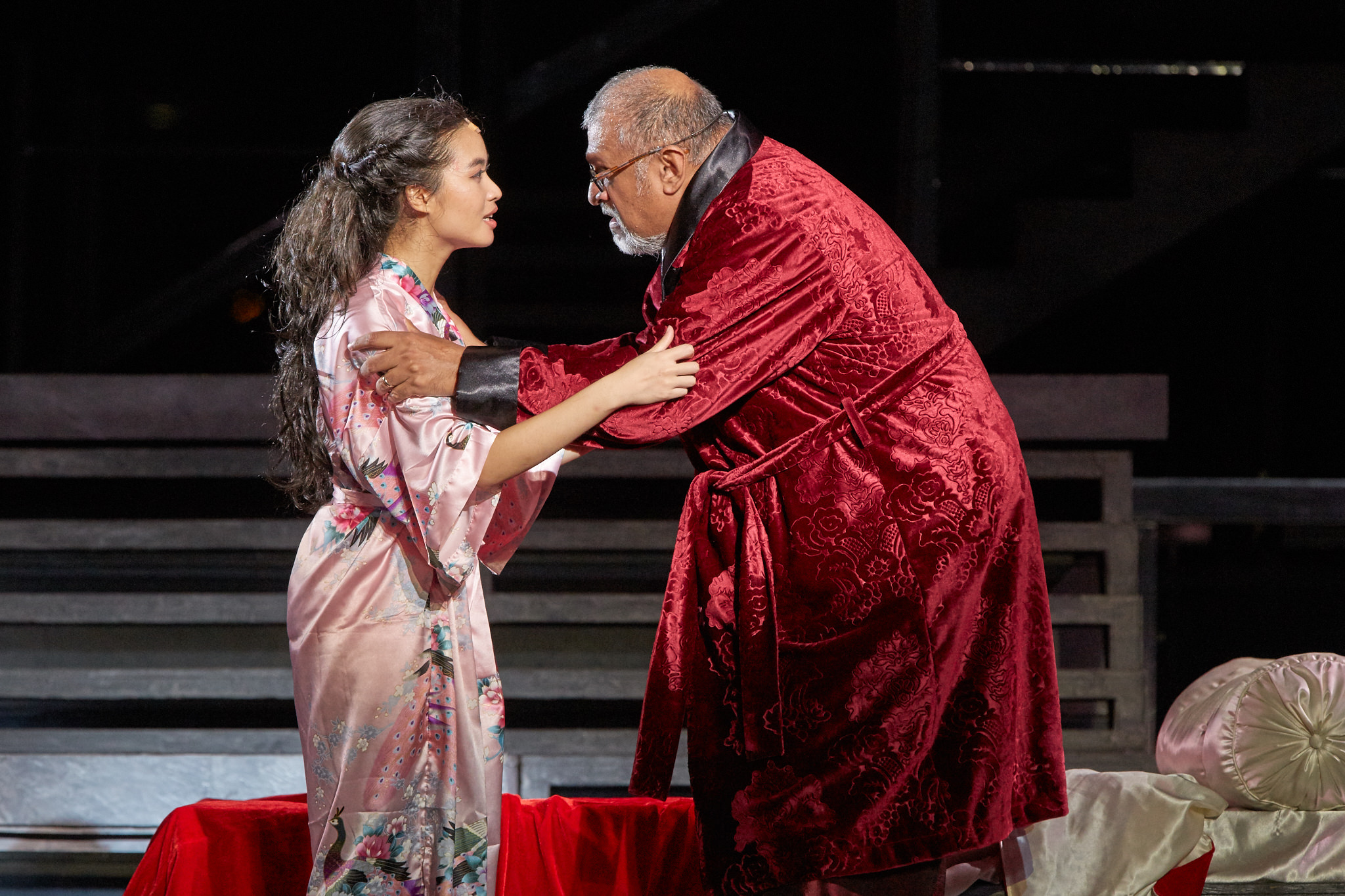 Cheryl Tan and Remesh Panicker in SRT's Shakespeare in the Park - Romeo ...