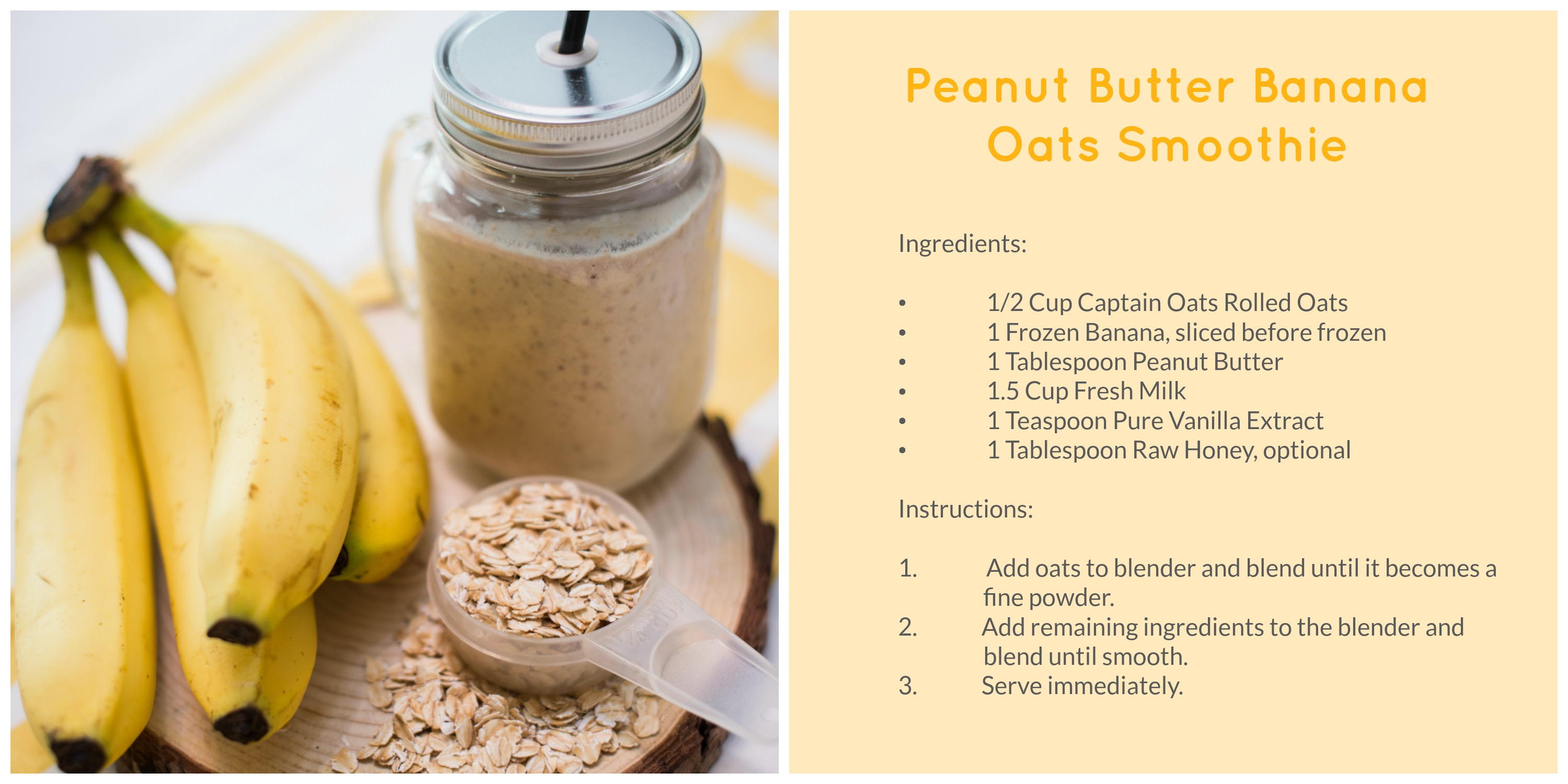Captain Oats Smoothie 1